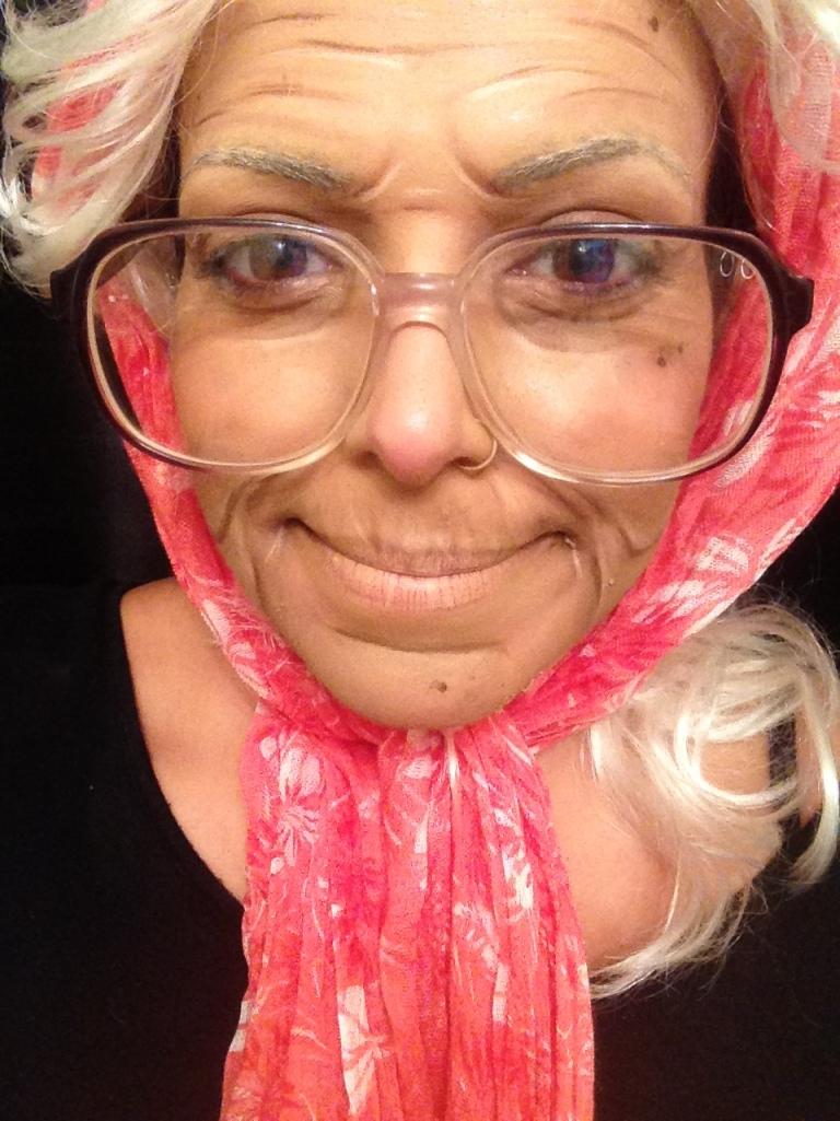 Old Woman Halloween Makeup | Kara Delfino Make Up Artist